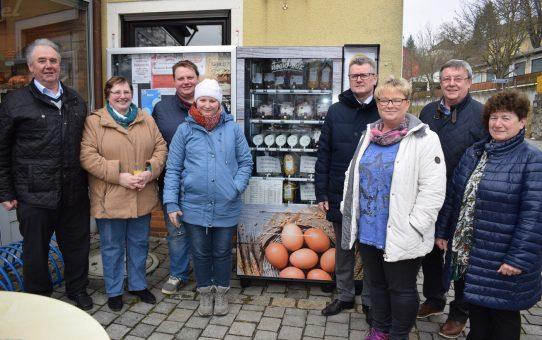 Verkaufsautomat in Rosenberg
